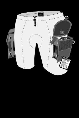 Beintaschen-Shorts in verschiedenen Größen