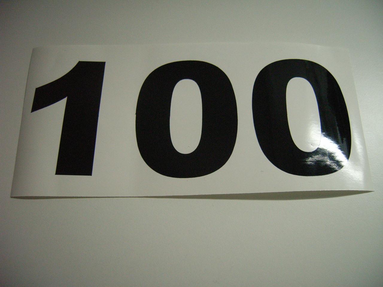 MOD Aufkleber 100