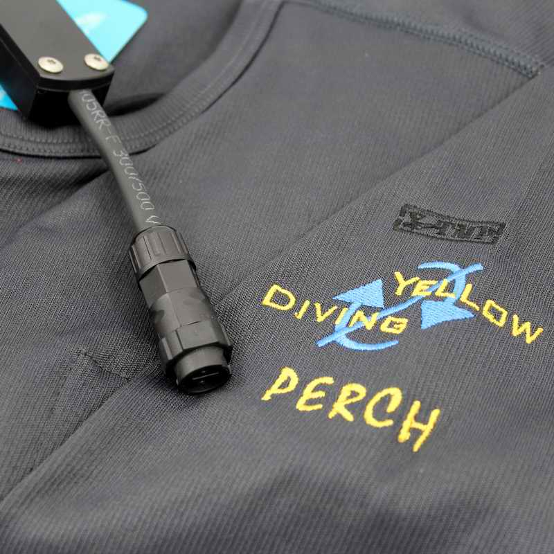 Yellow Diving Thermo-Shirt Gr. XL