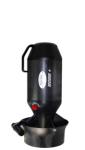 Bonex Ecos S Black Edition Scooter - Set mit Stellage