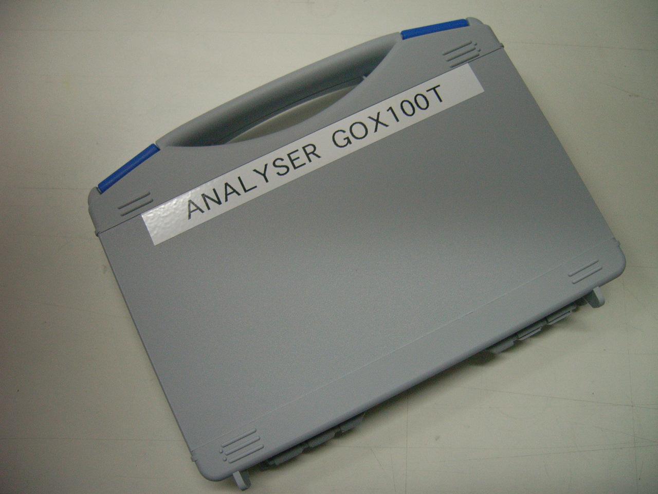 Kleiner Kunststoffkoffer für GOX 100 / 100T