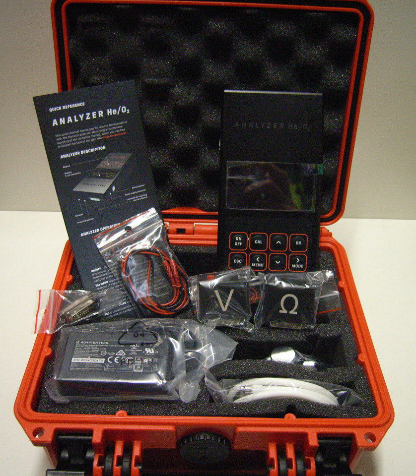 Professional Analyzer HE/O2 Set Blender Max Black edition