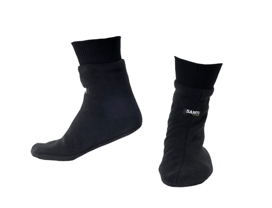 SANTI Boots Polar-Fleece Abverkauf