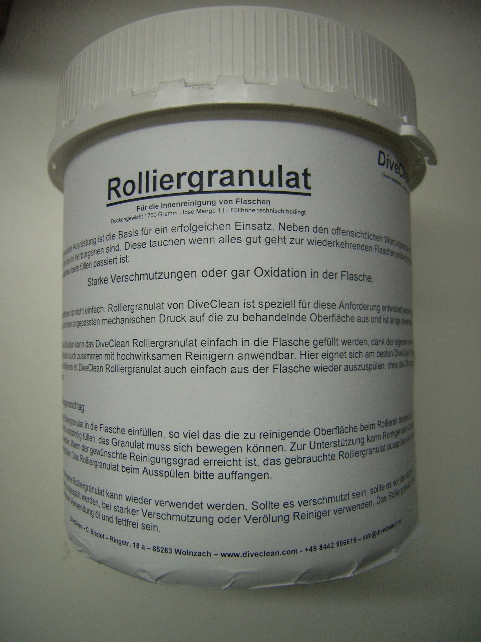 Rolliergranulat 1,7Kg