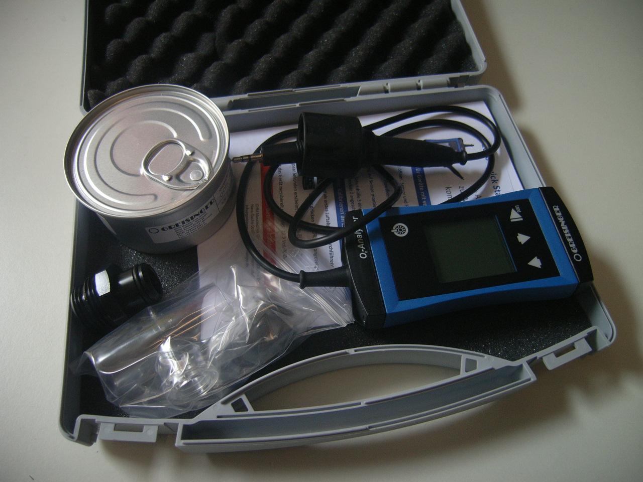 Sauerstoff Analyser GOX G1690T -  (Nachfolger vom bekannten GOX 100 T)