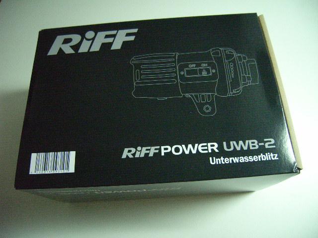 RIFF Unterwasserblitz UWB 2