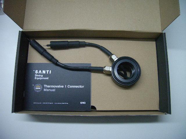 SANTI Double Dry Suit Connector