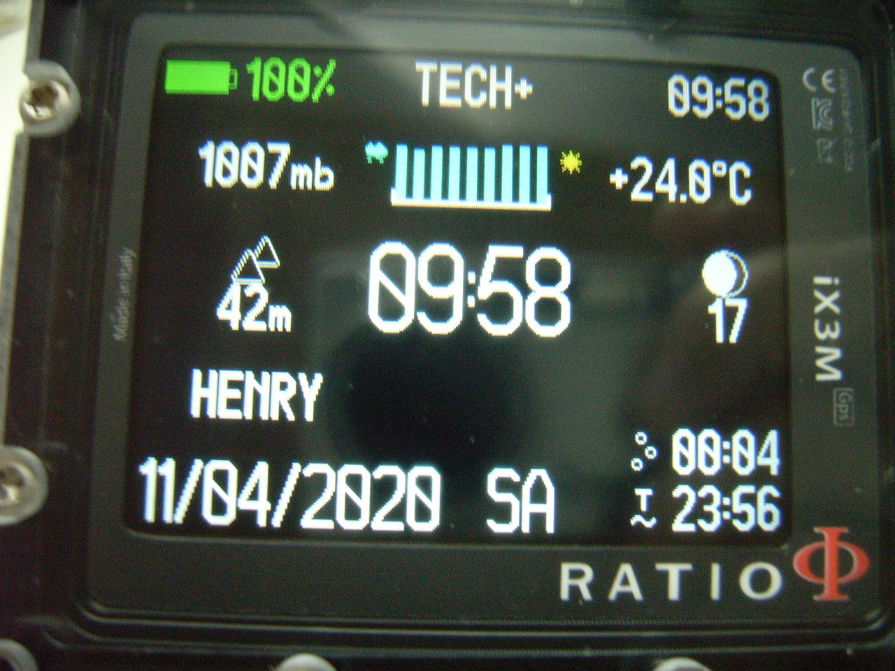 Ratio IX3M GPS Tech + (mit Gps )