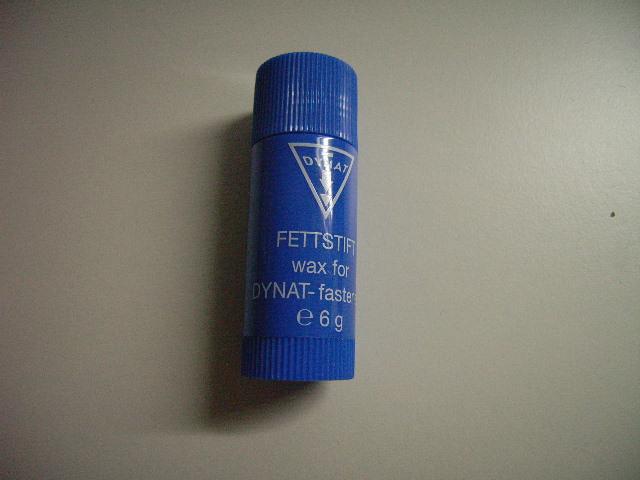 Dynat Wachsstift für Trocken Reißverschlüsse 6 g