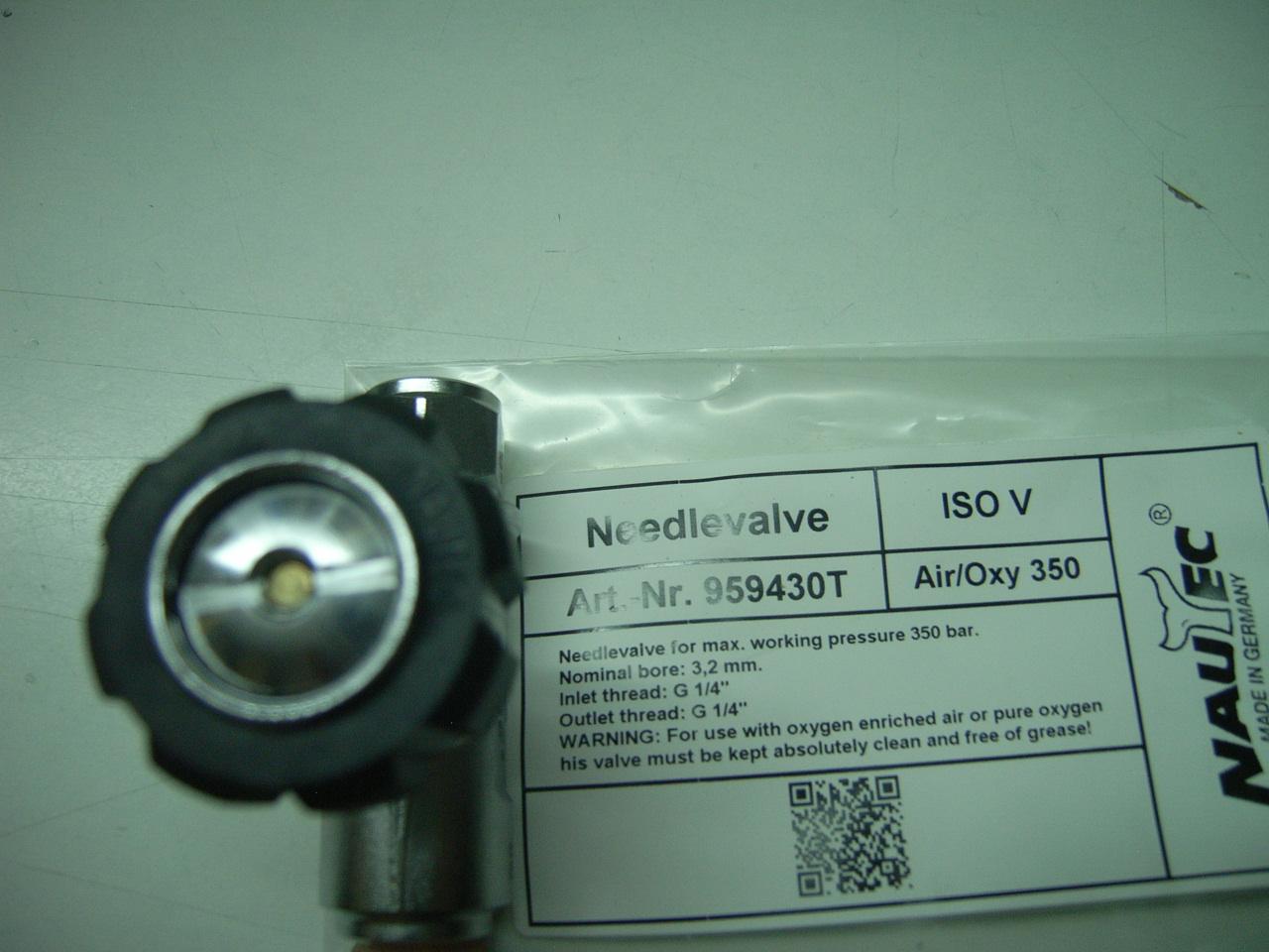 Nautec Nadelventil Pro mit Innengewinde G 1/4″