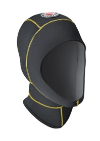 SANTI Kopfhaube Light Hood, 5/6 mm, Wärmekragen