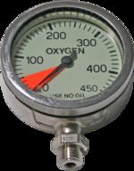 Dir Zone Finimeter 63mm 330bar Oxygen