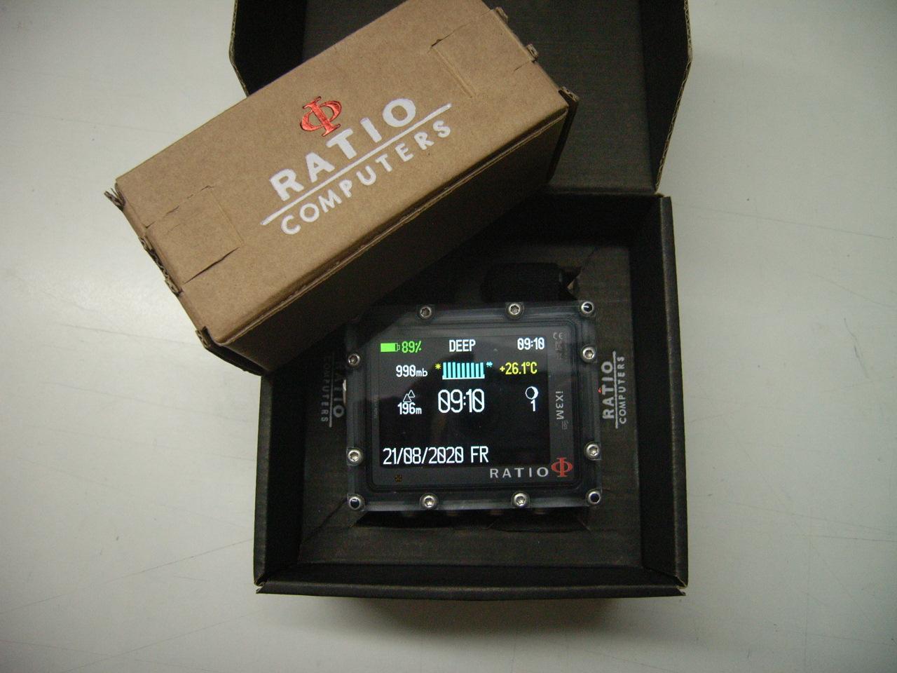 Ratio IX3M Pro Deep Tauch-Computer Senderfähig