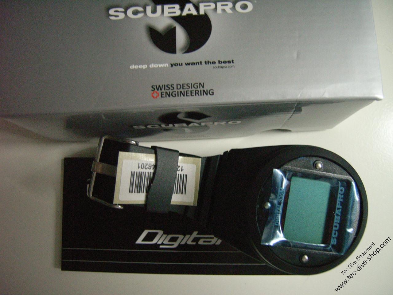 Bottomtimer Digital 330m Scubapro/Uwatec mit Armband