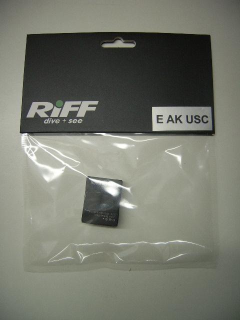 Ersatz-Akku für Riff USC 1080 Underwater & Sports Camera