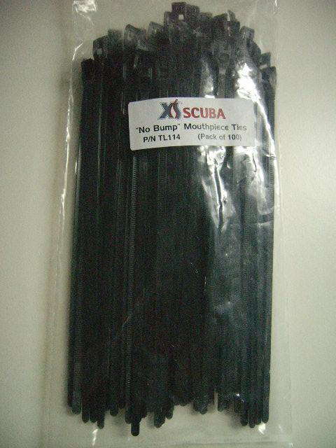Flache Kabelbinder in verschiedenen Abpackungen