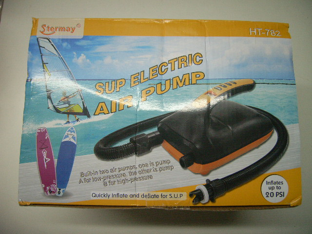 Elektrische SUP Board Pumpe