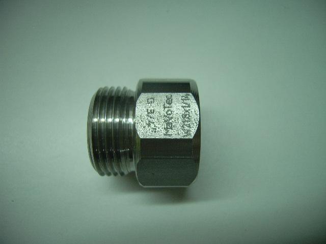 """Adapter 3/4"""" aussen - W21,8 x 1/14 innen"""